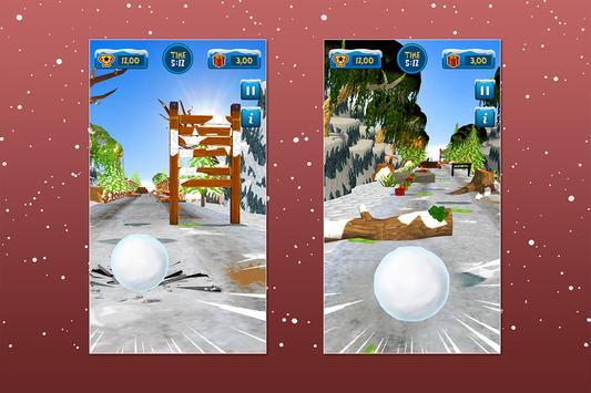 Santa Snowball Christmas Adventure screenshot 4
