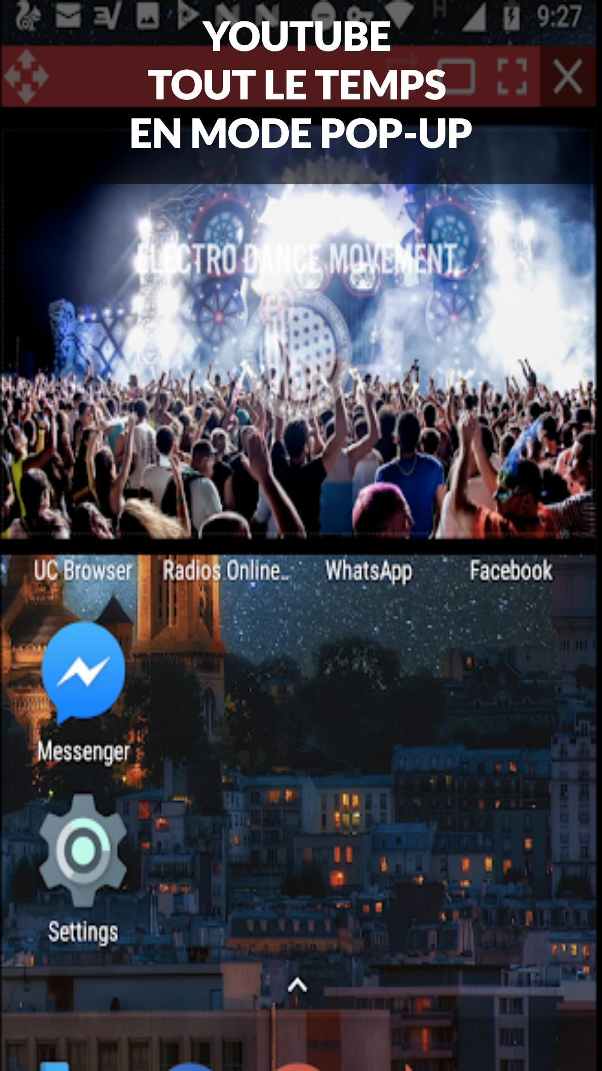 ProTube Floating Video Pro (pop-up Video Player) for Android