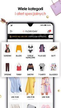 Floryday: Sklep Z Modą Damską plakat