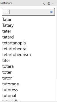Dictionary скриншот 5