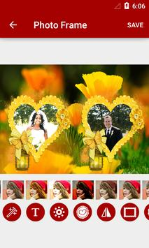 Flowers Dual Photo Frames screenshot 5
