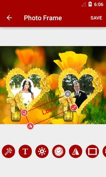 Flowers Dual Photo Frames screenshot 6