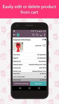 Flowers Cakes Online: Gifts Delivery screenshot 5