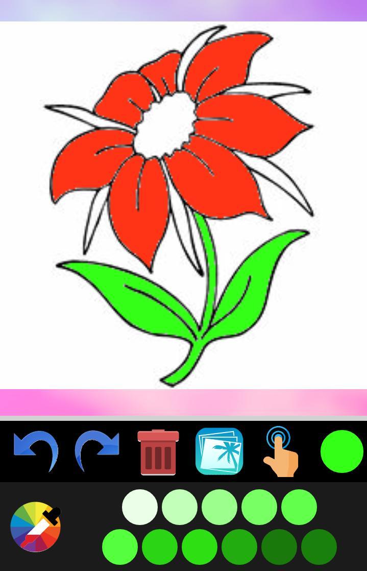 Buku Mewarnai Bunga For Android APK Download
