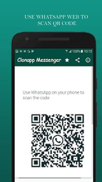 Clonapp Messenger screenshot 1