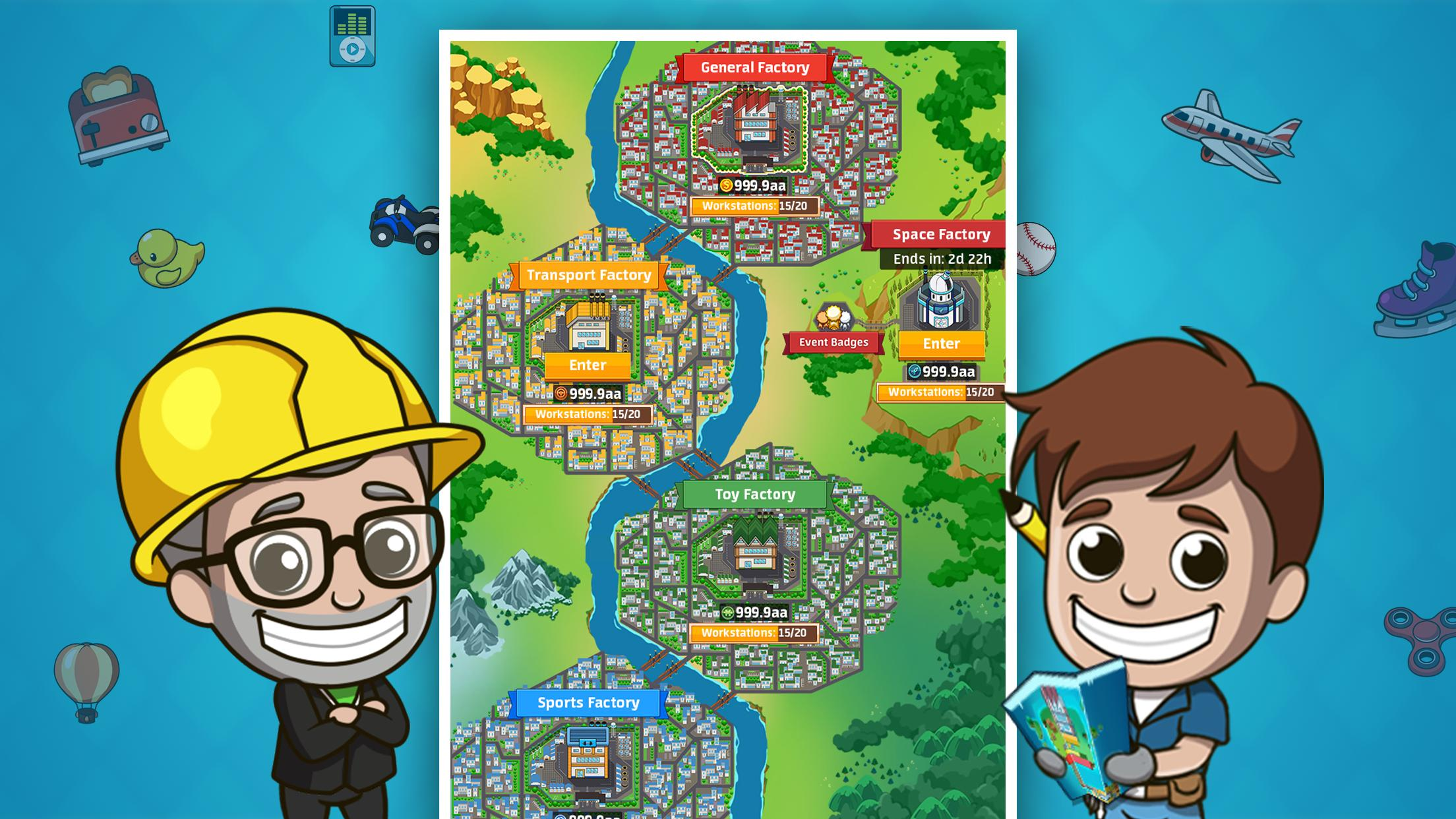 Idle Factory for Android - APK Download