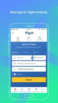 Flyin.com - طيران و فنادق تصوير الشاشة 1