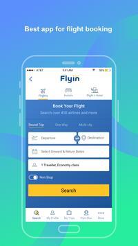 Flyin.com - Flights and Hotels screenshot 1
