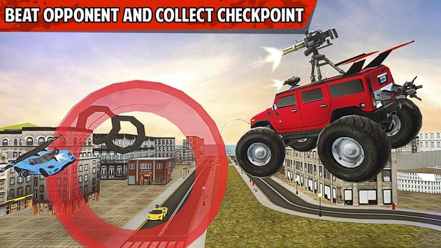 Flying Monster Truck games screenshot 1