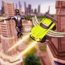 Flying Car Robot Game 2019:Flight Drive Simulator APK
