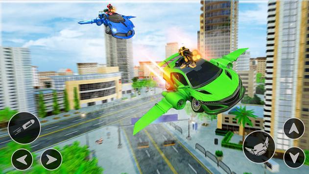 Flying Car Shooting Game: Modern Car Games 2021 screenshot 11