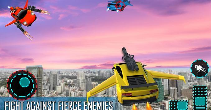Flying Car Shooting Game: Modern Car Games 2021 screenshot 13