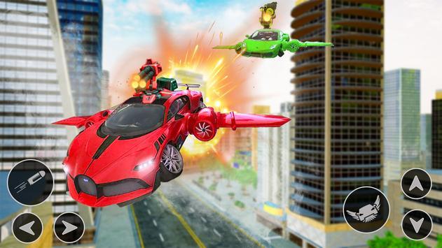Flying Car Shooting Game: Modern Car Games 2021 screenshot 14