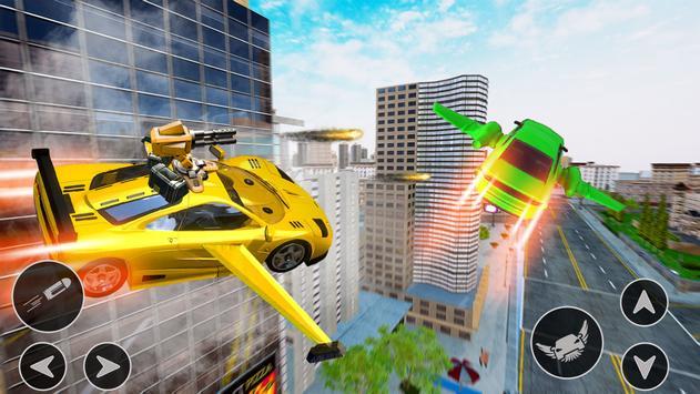 Flying Car Shooting Game: Modern Car Games 2021 screenshot 2