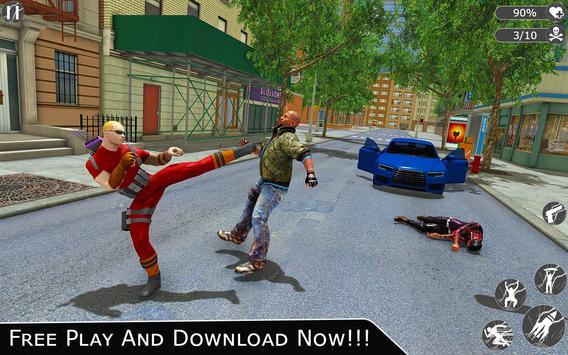 Flying Ninja Super Hero - Rescue Survival Game screenshot 6
