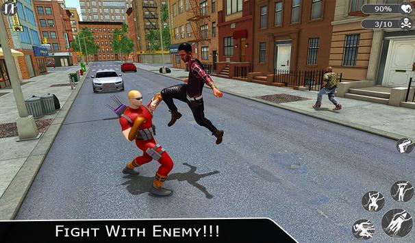 Flying Ninja Super Hero - Rescue Survival Game screenshot 9