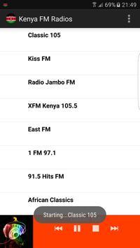 Kenya FM Radios poster