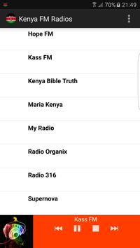 Kenya FM Radios screenshot 2