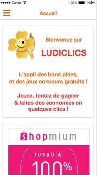 Ludiclics - Jeux concours poster