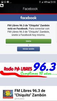 Libres Fm screenshot 2