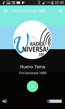Fm Universal 100.9 Jujuy screenshot 1