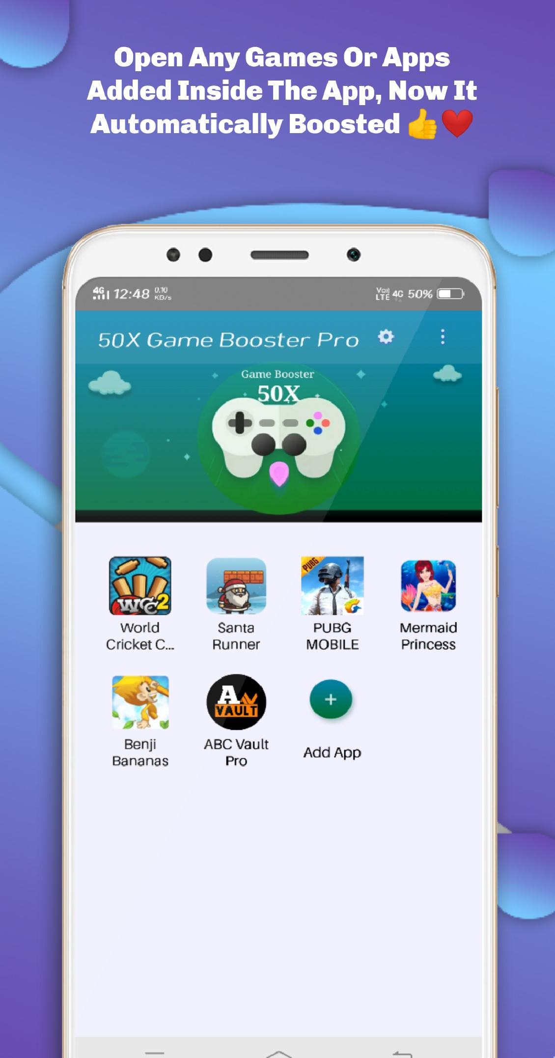 50X Game Booster Pro for Android - APK Download
