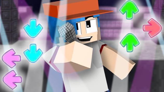 Mod of Friday Night Funkin for Minecraft screenshot 1