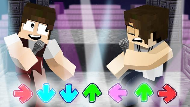 Mod of Friday Night Funkin for Minecraft screenshot 2
