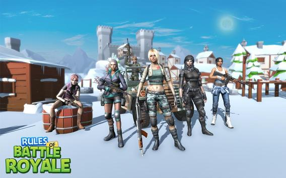 Rules Of Battle Royale - Free Games Fire screenshot 4