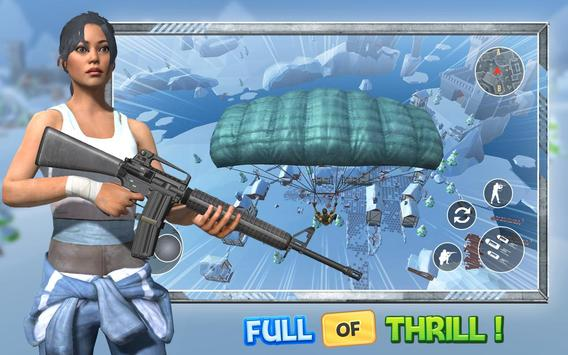 Rules Of Battle Royale - Free Games Fire poster