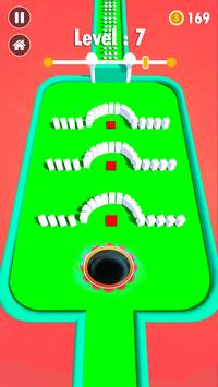 color hole bump 3d games for free- black hole game screenshot 2
