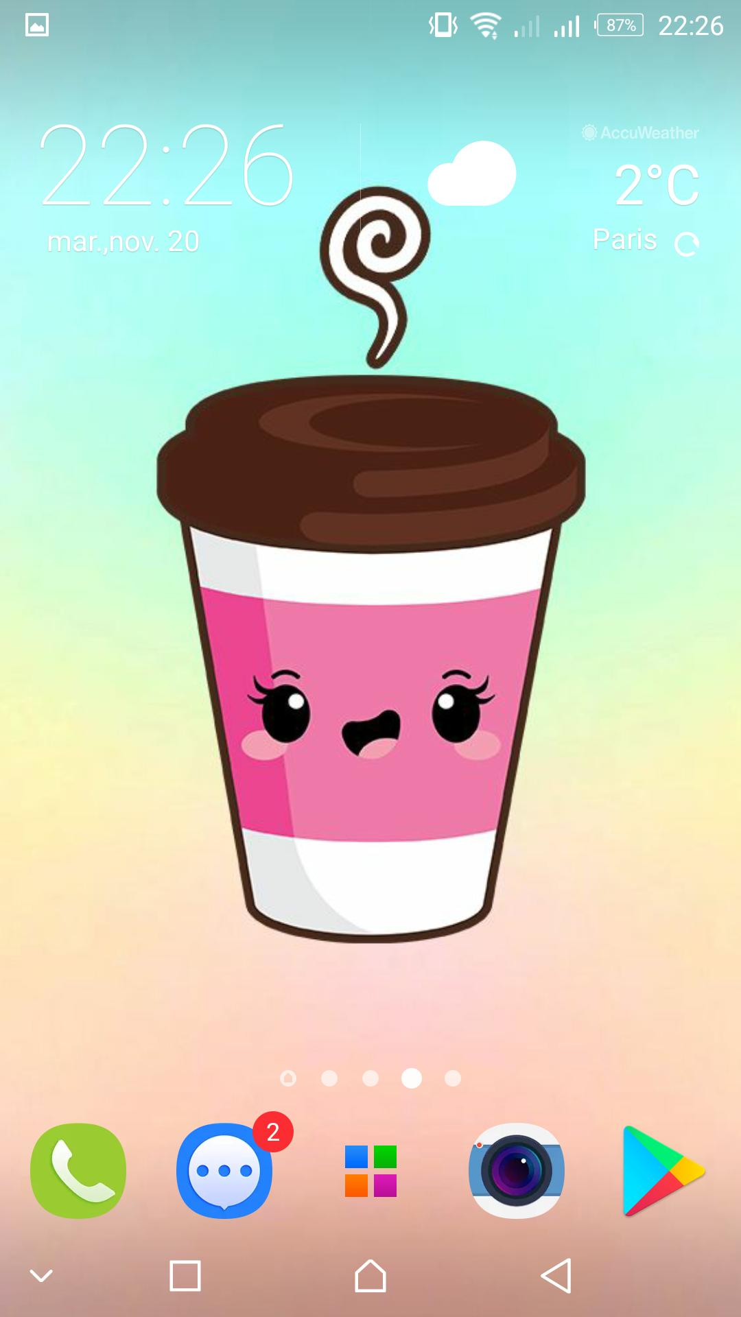 Cute Food Backgrounds Kawaii Wallpapers For Android Apk Download
