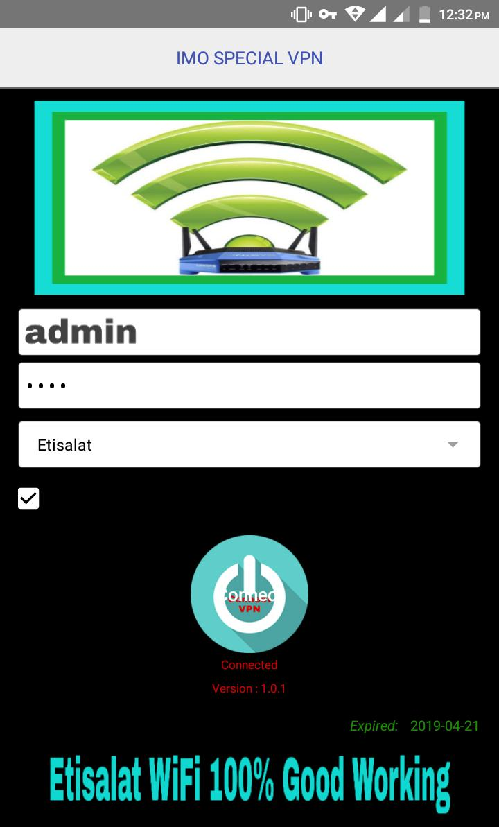 IMO SPECIAL VPN for Android - APK Download