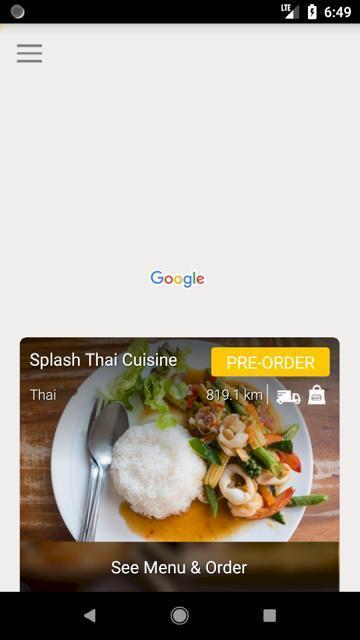 Splash Thai Cuisine For Android Apk Download