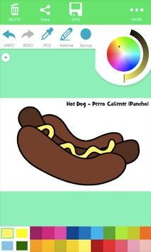 Natural Food Coloring Pages poster