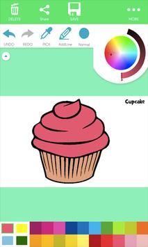 Natural Food Coloring Pages screenshot 1