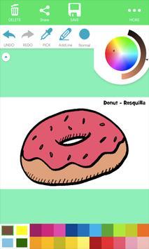 Natural Food Coloring Pages screenshot 2