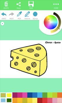 Natural Food Coloring Pages screenshot 3