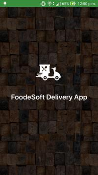 Food Delivery App Plakat