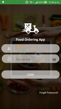 Food Delivery App स्क्रीनशॉट 1
