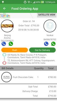 Food Delivery App स्क्रीनशॉट 7