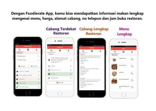 Foodierate – Indonesia Food Restaurant Finder App screenshot 4