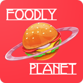 Foodly Planet: Food Delivery & Restaurant Takeout icon