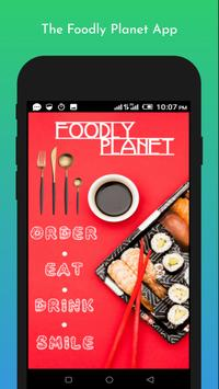 Foodly Planet: Food Delivery & Restaurant Takeout poster