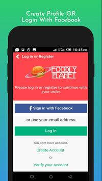 Foodly Planet: Food Delivery & Restaurant Takeout screenshot 6