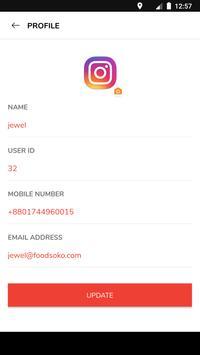 FoodSoko Deliver screenshot 5