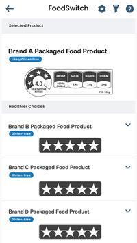 FoodSwitch screenshot 3