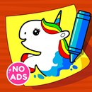 Unicorn Coloring Book & Baby Games for Girls APK Android