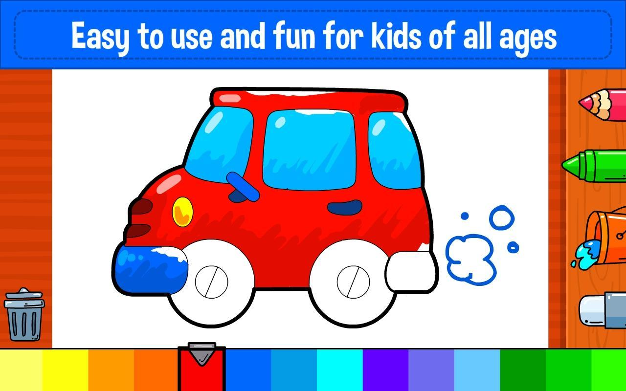 Learning & Coloring Game for Kids & Preschoolers for Android ...