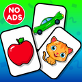 Flashcards Toddler Games for 2 and 3 Year Olds